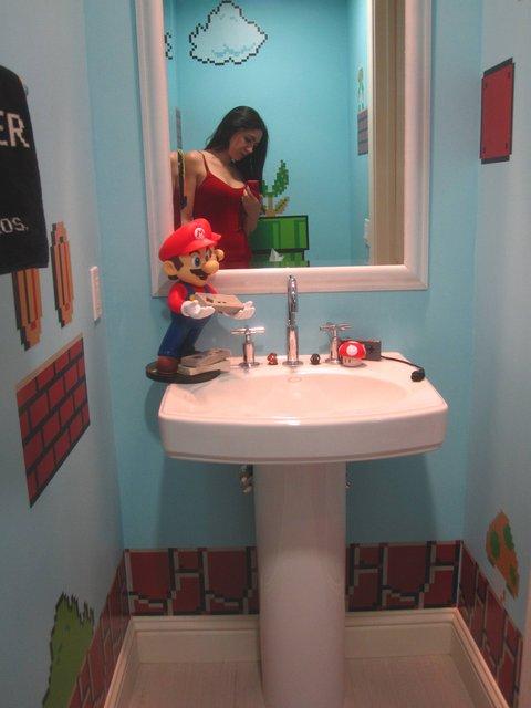 banheiro do super mário