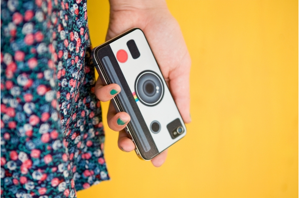adesivo de instagram pra iphone