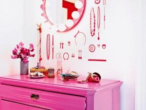 rosa na decoração