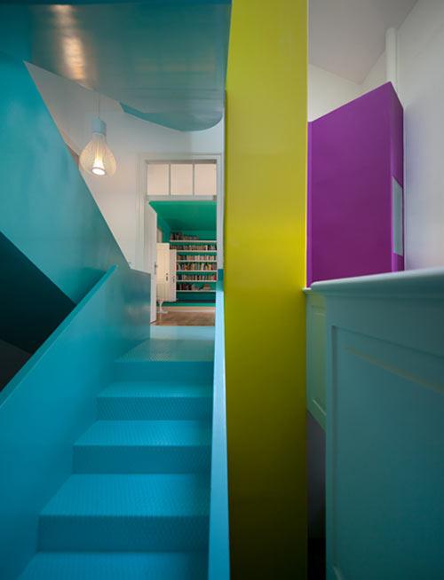 as cores e as formas dos anos 60 e 70
