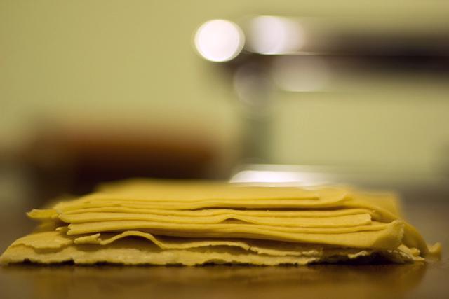 lasanha com massa caseira