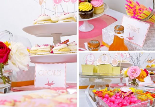 cores de sexta: festa laranja e rosa
