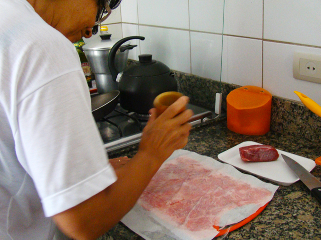 receita de carpaccio de carne