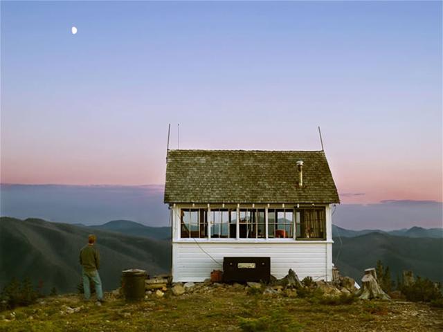 morar numa cabana