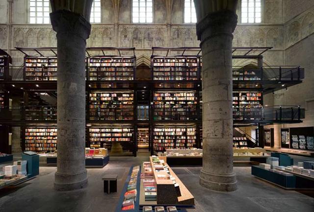 igreja que virou livraria