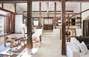 uma bela casa rústica