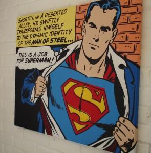 pop comic art
