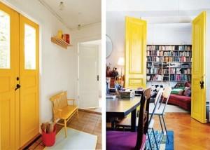 portas coloridas