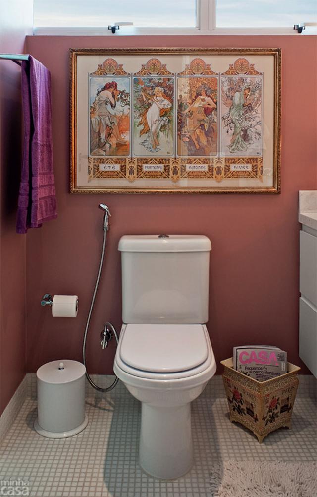 decoracao de banheiro • ideias de fim de semana # Decoracao De Banheiro Com Quadro