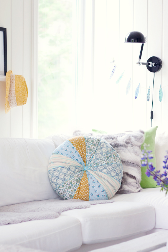 decorar com cores delicadas