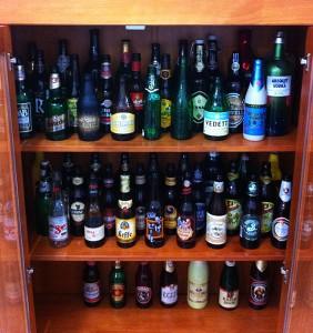 colecao de cervejas