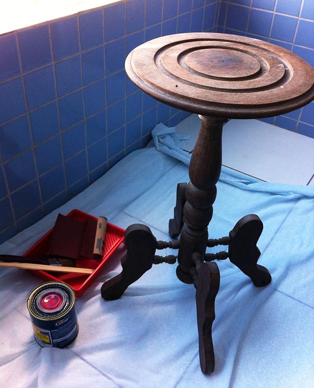 nova mesa de canto