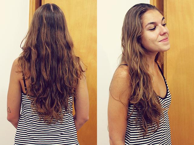 corte de cabelo antes
