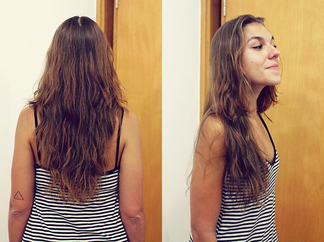 corte de cabelo depois