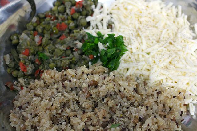 bolinho de arroz 7 graos