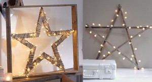 estrela na decoracao