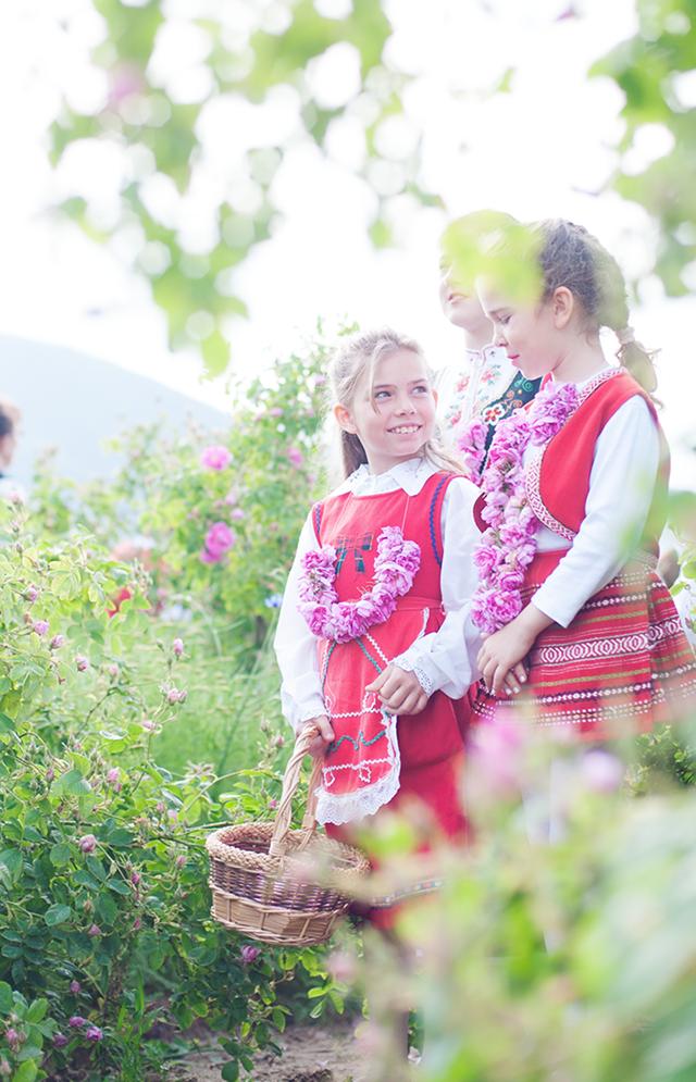 festival de rosas na bulgaria