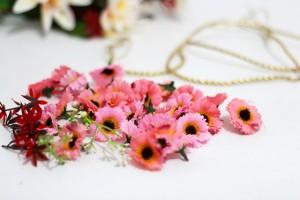 tiara de flores 9