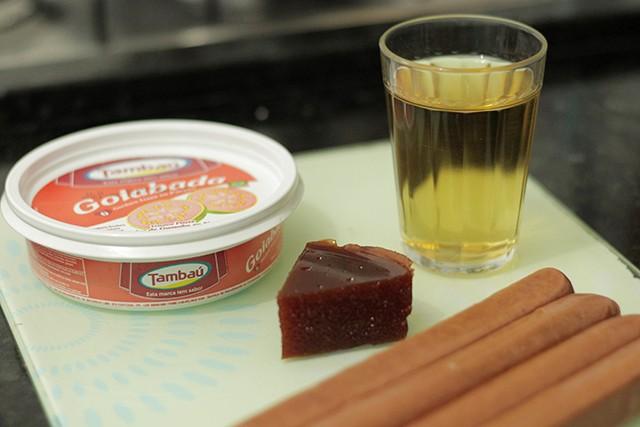 linguiça caramelizada na goiabada com cachaça 5