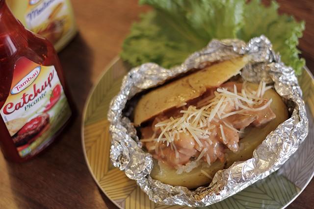 batata recheada com estrogonofe picante 1