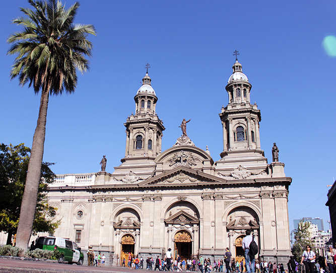 Catedral Metropolitana de Santiago 2