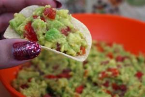 receita guacamole